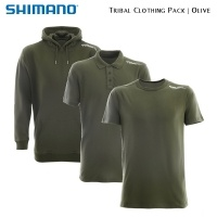 Shimano Tribal Clothing Pack Olive | SHPACKOL01