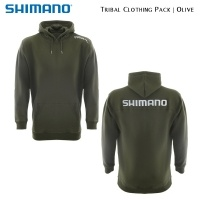 Shimano Tribal Clothing Pack Olive | SHPACKOL01 | Hoody