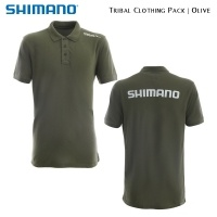 Shimano Tribal Clothing Pack Olive | SHPACKOL01 | Polo Shirt