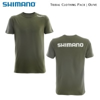 Shimano Tribal Clothing Pack Olive | SHPACKOL01 | T-Shirt