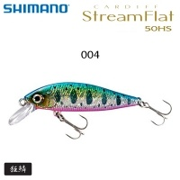 Shimano Cardiff Stream Flat 50HS | ZN-350T | 69340 | Color 004