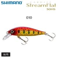 Shimano Cardiff Stream Flat 50HS | ZN-350T | 69356 | Color 010