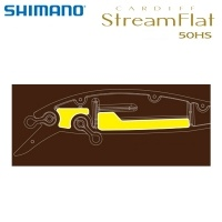 Shimano Cardiff Stream Flat 50HS | ZN-350T | Fixed Weight
