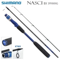 Shimano Nasci BX Spinning 810H | SNASBX810H | Spinning Rod 2.70m 15-60g