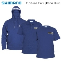 Shimano Tribal Clothing Pack Royal Blue | SHPACKRB01