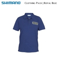 Shimano Tribal Clothing Pack Royal Blue | SHPACKRB01 | Polo Shirt