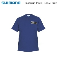 Shimano Tribal Clothing Pack Royal Blue | SHPACKRB01 | T-Shirt