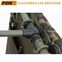 Fox Flatliner 6 Leg Bedchair | CBC094 | Двойни панти
