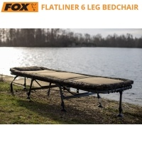 Fox Flatliner 6 Leg Bedchair | CBC094 | В употреба