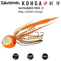 Daiwa Kohga Bay Rubber Free Alpha Jig 250g | 05 Orange