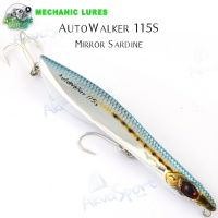 Mechanic Lures AutoWalker 115S | Mirror Sardine