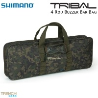 Shimano Tribal Trench 4 Rod Buzzer Bar Bag | Чанта за бъз барове