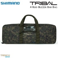 Чанта за 4 бъз барa Shimano Tribal Trench Gear 4 Rod Buzzer Bar Bag | SHTTG16