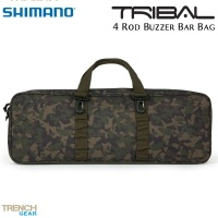 Чанта Shimano Tribal Trench Gear 4 Rod Buzzer Bar Bag | SHTTG16