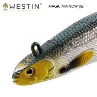 Westin Magic Minnow Jig 10cm | Силикон с джиг глава 12g