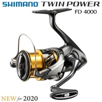 Shimano Twin Power 2020 | FD 4000 XG | TP4000XGFD | Спининг макара