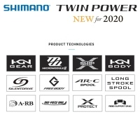 Shimano Twin Power 2020 | FD 4000 XG | TP4000XGFD | Технологии
