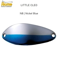 Блесна Little Cleo | цвят NNB | Nickel Blue