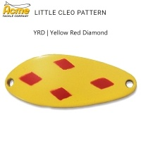 Блесна Little Cleo Pattern | цвят YRD | Yellow Red Diamond