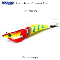 Marushin Let's Ride Egi | Red Yellow