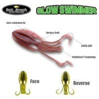 Силиконова примамка калмар Bait Breath Slow Swimmer