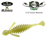 Силиконова примамка Bait Breath U30 RUI 112 Green Weenie