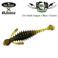 Силиконова примамка Bait Breath U30 RUI 735 Dark Gripan / Blue / Green
