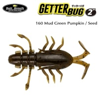 Силиконова примамка Bait Breath U30 Getter Bug 160 Mud Green Pumpkin / Seed