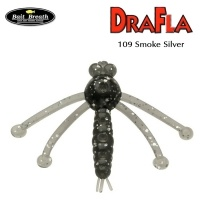 Силиконова примамка Bait Breath DraFla #109 Smoke Silver