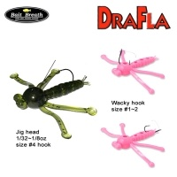 Силиконова примамка Bait Breath DraFla