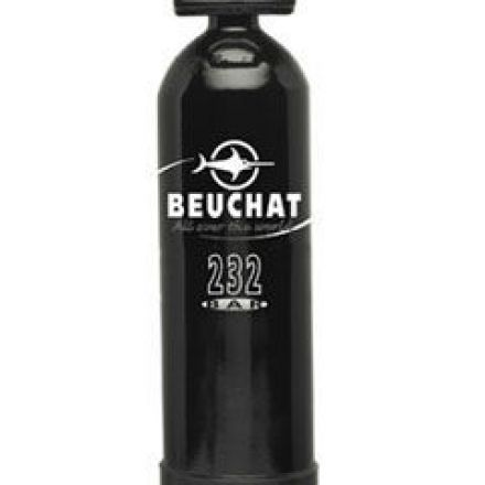 single air tank Beuchat 6 l with 1 outlet valve